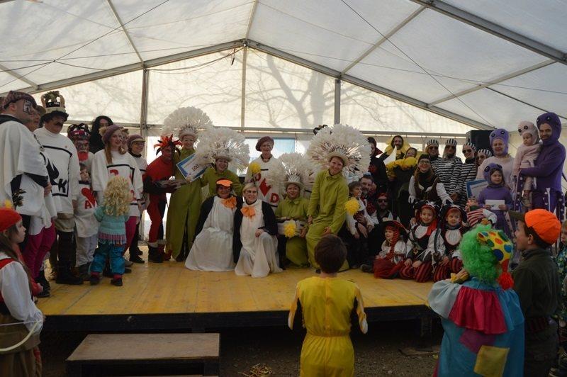 Nagrade so na pustnem rajanju v Moravskih Toplicah prejele najizvirnejše maske