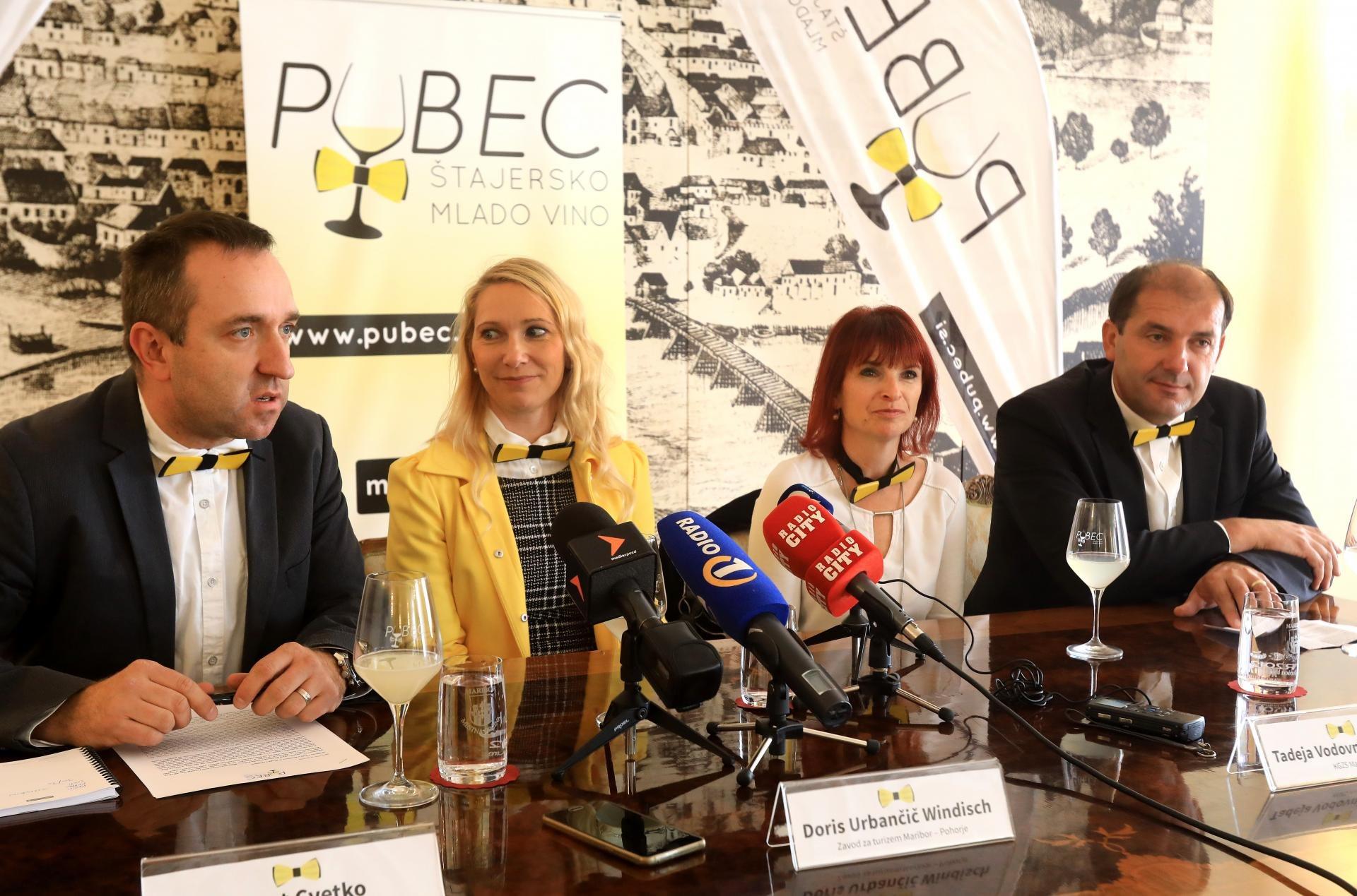 Projekt Pubec - Štajersko mlado vino v svoji tretji sezoni združuje 30 štajerskih vinarjev.