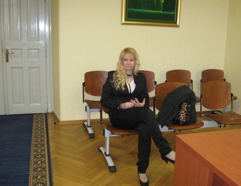 Romana Kruhar Puc na novomeškem sodišču