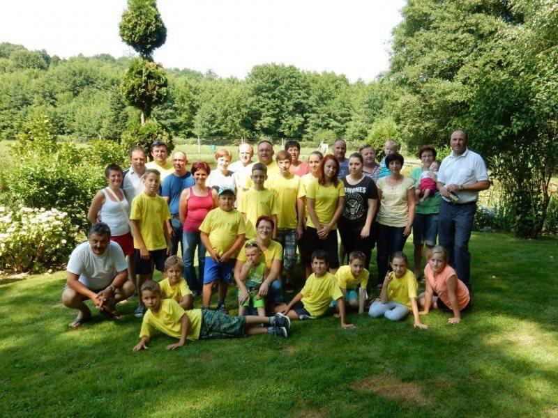 Udeleženci letošnjega poletnega tabora; foto: Saubermacher-Komunala