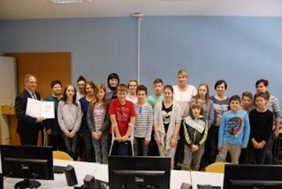 Osnovna šola Odranci je postala Naj simbioza šola; foto:OŠ Odranci
