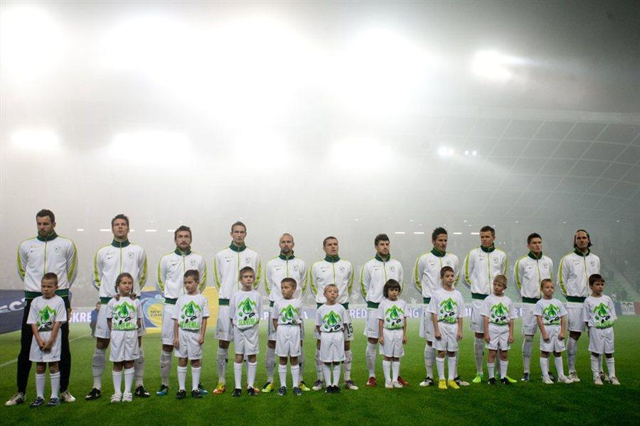 Slovenski nogometaši