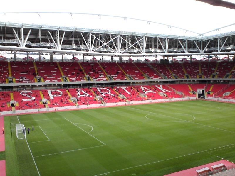 Stadion Spartaka sprejme 45.000 gledalcev, odprli so ga leta 2014.