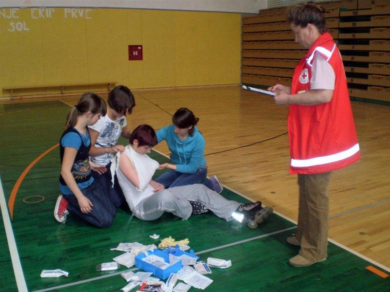 Tekmovanje ekip prve pomoči
