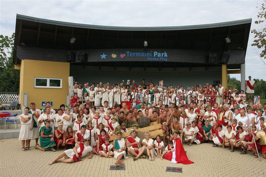 Rimske igre v Termah Ptuj!