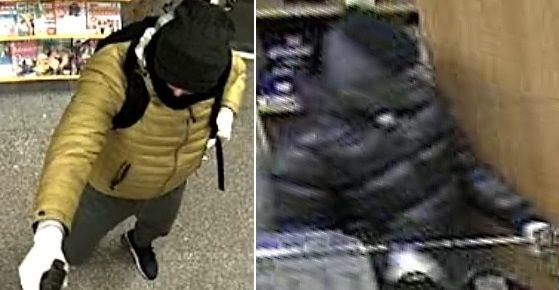 Oborožena neznanca sta vstopila v poštno poslovalnico v ponedeljek okoli 18. ure.