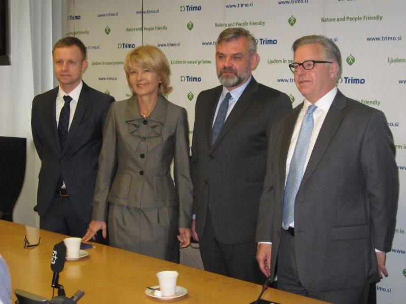 Sebastjan Teter, Innova Capital, Alenka Črešnar Pergar, svetovalka pri nakupu, Maciej Radomski in Jeffrey L. Grady