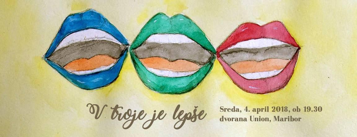 Nastopili bodo Akademski pevski zbori iz Ljubljane, s Primorske in iz Maribora.