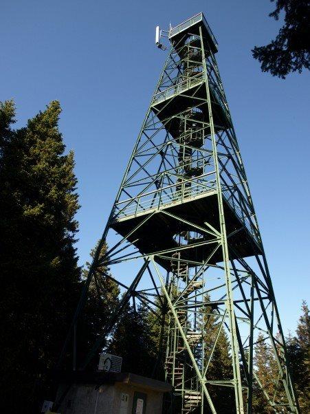stolp na Rogli