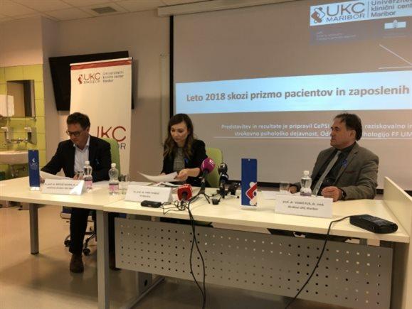 Rezultati raziskave so po besedah strokovnega direktorja UKC Maribor Matjaža Vogrina dragocena povratna informacija.
