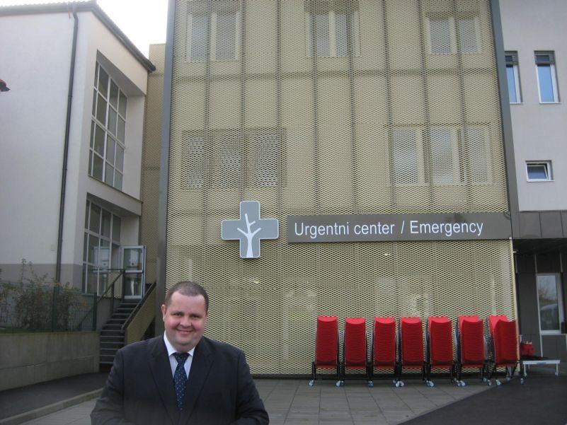 Urgentni center Brežice ob odprtju 7. novembra 2014.