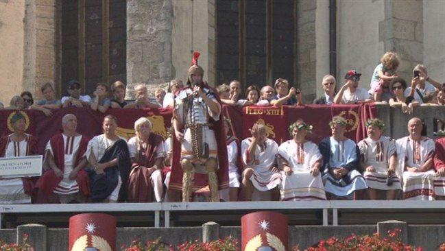 V četrtek se na Ptuju pričenjajo IX. Rimske igre.