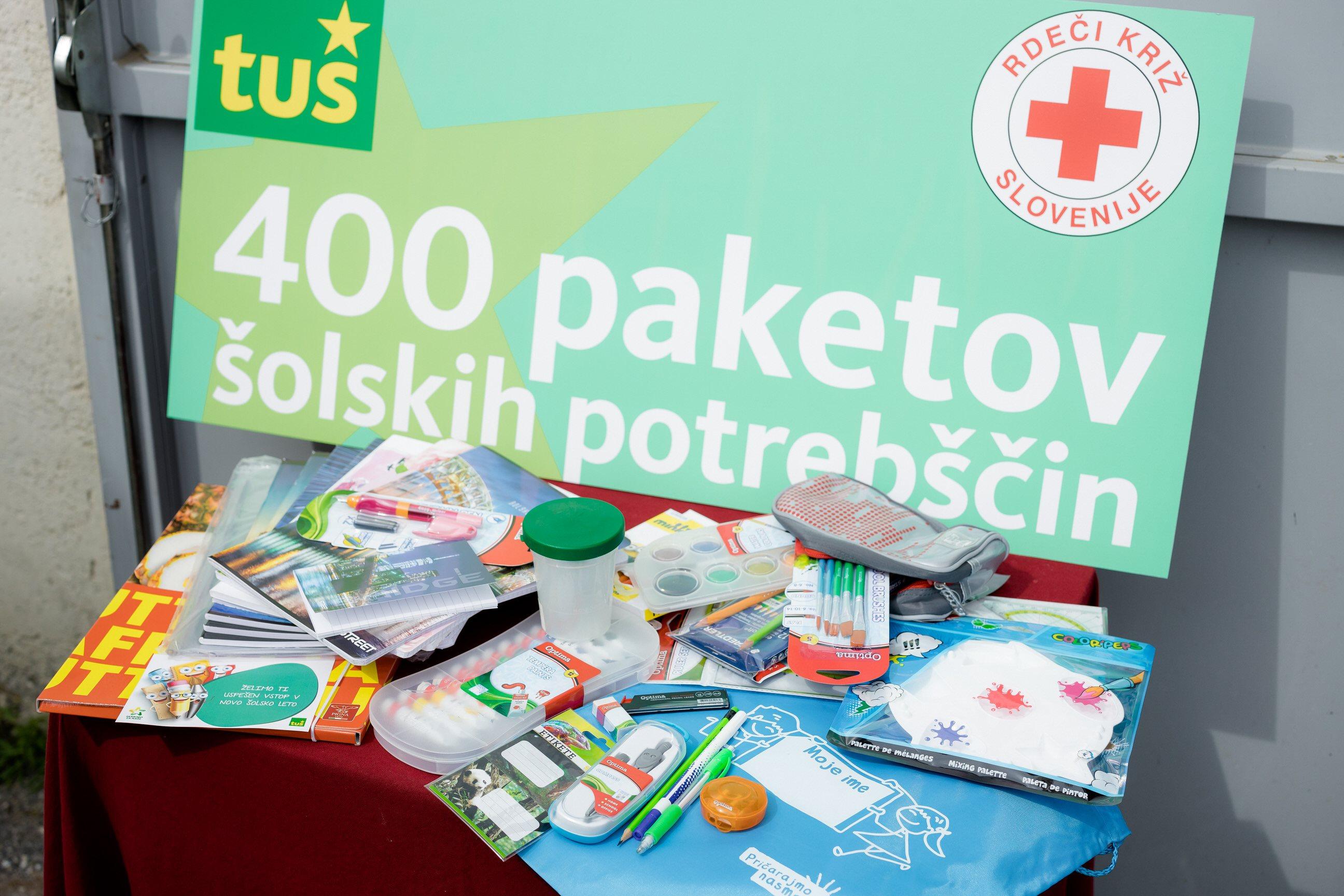 Tuš že 18 let zapored v sodelovanju s partnerji in kupci skrbi, da otroci iz vse Slovenije preživljajo lepe poletne dni