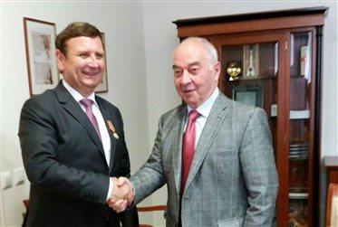 Lendavskega župana je obiskal veleposlanik Ruske federacije dr. Doku Zavgajev; foto:Občina Lendava